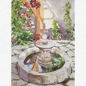 """My house fountain"", by Gustavo Guzman Staforelli"